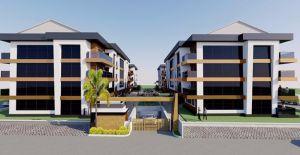 Tire Garden İzmir projesi Satış Ofisi!