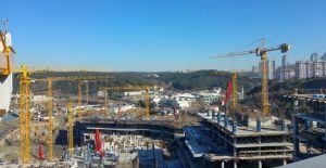 Vadistanbul'da 13 adet POTAIN kule vinç kullanılıyor!