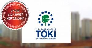 TOKİ'nin açık satış ile konut sattığı iller! 8 Eylül 2016