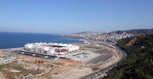 Trabzon Akyazı Spor Kompleksi'nde sona yaklaşıldı!
