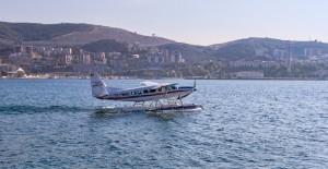 Burulaş deniz uçağı İstanbul seferleri yeniden başladı!
