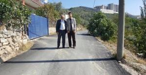 Gemlik Cihatlı ve Hisar Tepe'de asfaltlanmamış yol kalmadı!