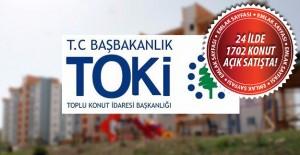 TOKİ'nin açık satış ile konut sattığı iller! 1 Kasım 2016
