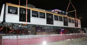 Üsküdar Çekmeköy Metrosu'nda vagonlar artık raylarda!