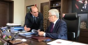 Başkan Edebali Ankara ziyareti ile Yıldırım'daki sit alanı durumuna açıklık getirdi!