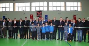 Büyükşehir'den Rotary İlkokulu'na spor salonu!