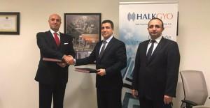 Halk GYO İstanbul Uluslararası Finans Merkezi kuleleri için YDA inşaat ile imzayı attı!
