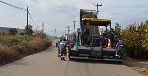 Kepez Gaziler'de asfalt çalışması yapılıyor!