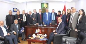 Midilli Ticaret Odası'ndan İzmir'e emlakta işbirliği ziyareti!