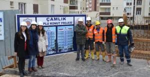 Gemlik Belediyesi Çamlık Toplu Konut Projesinin temeli atıldı!