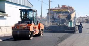 Antalya Döşemealtı Belediyesi asfalt yapımına devam ediyor!