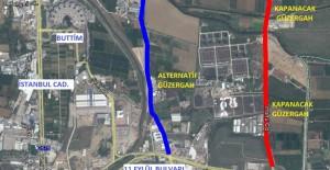 Bursa Eski Yalova Yolu 1-4 Şubat tarihleri arasında trafiğe kapatılacak!