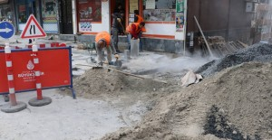 Eyüp Esentepe Mahallesi'nde prestij cadde çalışmaları başladı!