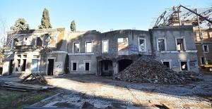 İzmir Paterson Köşkü'nde restorasyon çalışmaları sürüyor!