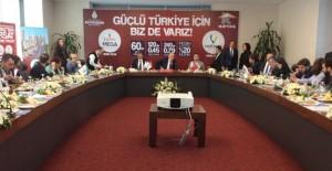 Kiptaş 'Güçlü Türkiye için biz de varız' dedi!