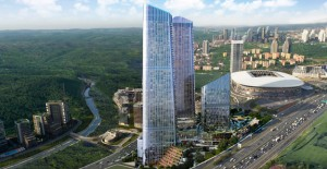 Skyland İstanbul'da Otis asansörleri kullanılıyor!