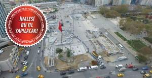 Taksim'e 3 katlı tünel projesi!