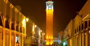 Adana Büyüksaat Kulesi çevresi trafiğe açıldı!