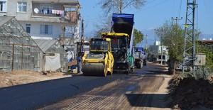 Antalya Büyükşehir Belediyesi asfalt çalışmalarına hız verdi!