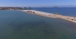 Balıkesir Cunda Köprüsü inşaatında sona yaklaşılıyor!