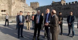 Başkan Çelik 'Kayseri Kalesi yeni cazibe merkezi olacak'!
