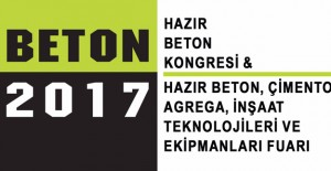 Beton 2017 Kongresi 13-14 Nisan 2017'de!