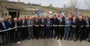 Bursa Büyükbalıklı-Konaklı köylerini birbirine bağlayan köprü açıldı!