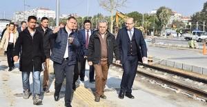 İzmir Karşıyaka tramvay hattı Nisan'da açılıyor!