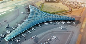 """GMW Mimarlık ve AECOM, """"Kuveyt Havalimanı Terminal 2"""" projesinin Tasarım Koordinasyon Liderleri oldular!"""