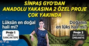 Sinpaş GYO Ümraniye projesi ön talep topluyor!