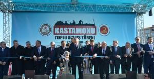 TOKİ'nin Kastamonu'da inşa ettiği konut ve sosyal tesislerin açılışı yapıldı!