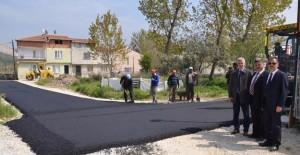 Gemlik Eşref Dinçer Mahallesi asfaltla kaplanacak!