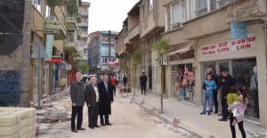 Gemlik Belediyesi'nden Hamidiye Mahallesine estetik dokunuş!