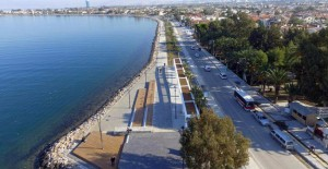 İzmir Narlıdere Sahilevleri 2.etap çalışmaları tüm hızıyla devam ediyor!