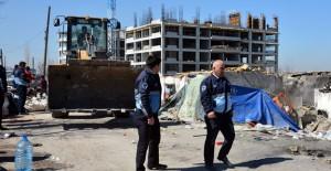 Keçiören Ovacık'ta 39 metruk bina yıkıldı!