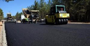 Kepez Belediyesi Kirişçiler yolunu asfaltlıyor!