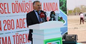 Melikgazi Anbar kentsel dönüşüm projesinin temeli atıldı!