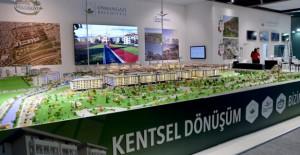 Osmangazi Belediyesi kentsel dönüşüm projeleriyle Bursa İnşaat Fuarı'nda!