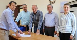 TOKİ Gazipaşa konutları için arazi TOKİ'ye teslim edildi!