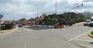 Trabzon Belediyesi 4 ilçede yolları yeniliyor!