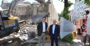 Akçakoca kent meydanı projesi çalışmaları başladı!