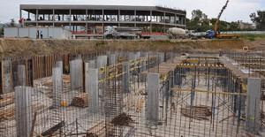 Alanya Hal Projesi inşaatı hızla devam ediyor!