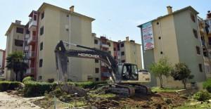 Ataevler Emek 23 Sitesi'nde blokların yıkımına başlandı!