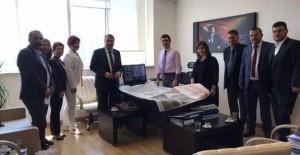 Çerçi 'Türkiye'ye örnek olacak bir projeyi Yunusemre'de hayata geçirmek istiyor'!