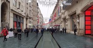 İstiklal Caddesi yenileme çalışmaları son hızıyla devam ediyor!