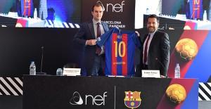 Nef, FC Barcelona'nın yeni sponsoru oldu!