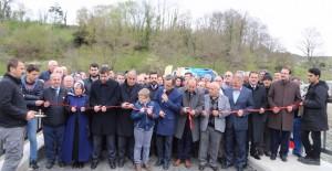 Sungurlu-Kalemköy hattını birbirine bağlayan Sungurlu köprüsü açıldı!