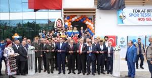 Tokat Karşıyaka Spor Kompleksi açıldı!