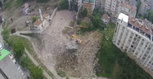 Yıldırım Sular Vadisi Doğa Parkı projesinde yıkımlar tamamlandı!