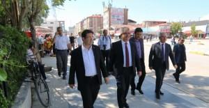 Aksaray Piri Mehmet Paşa köprülü kavşak projesi çalışmaları devam ediyor!